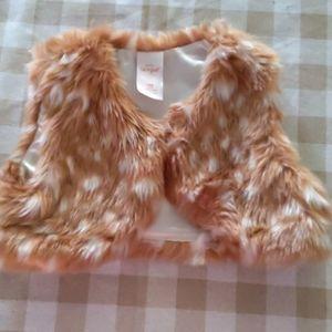 Cat and Jack fur vest